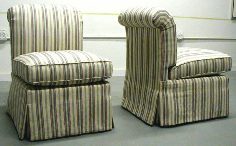 Slipper Chairs Small Scale